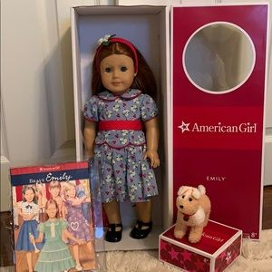 AUTHENTIC American Girl Emily Bennett Lot